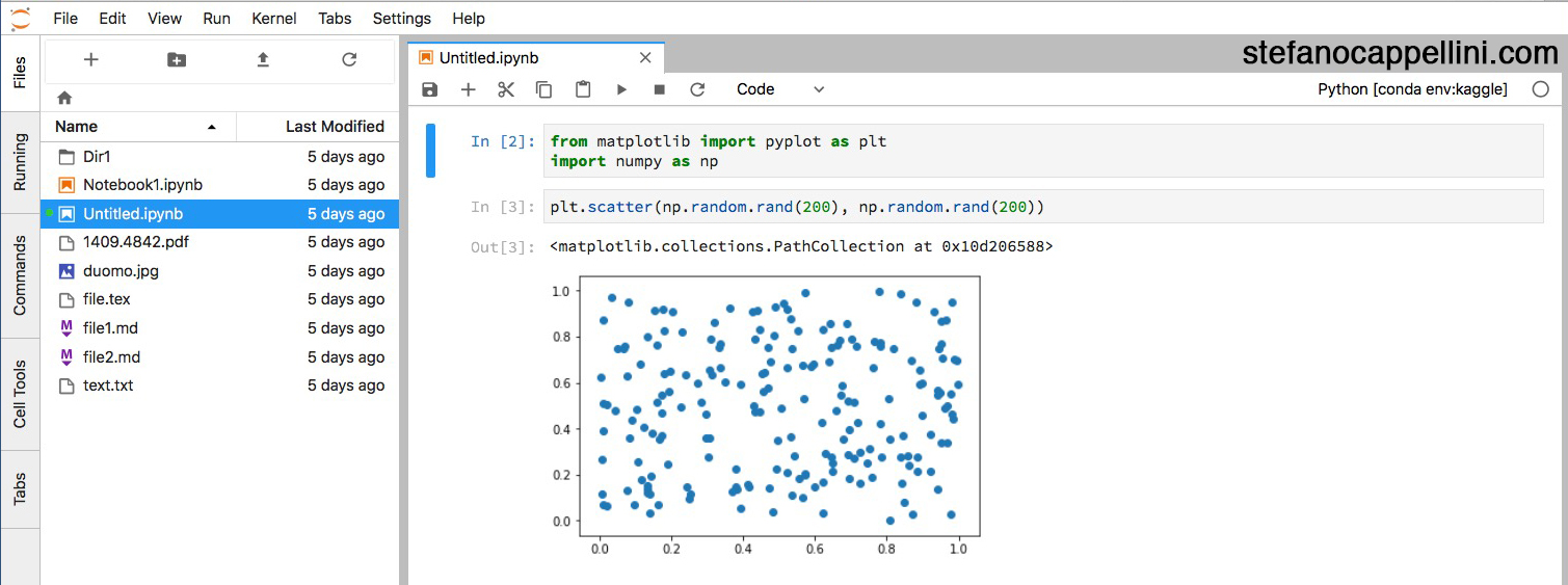 Bye bye Jupyter Notebook App, welcome JupyterLab! -- Stefano Cappellini